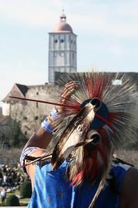 Indianer auf der Schallaburg