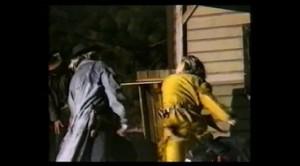Schlägerei Blutsbrüder 2001