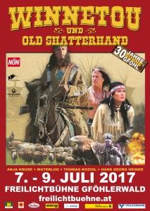 WINNETOU & OLD SHATTERHAND – 30 Jahre Freilichtbühne Gföhlerwald
